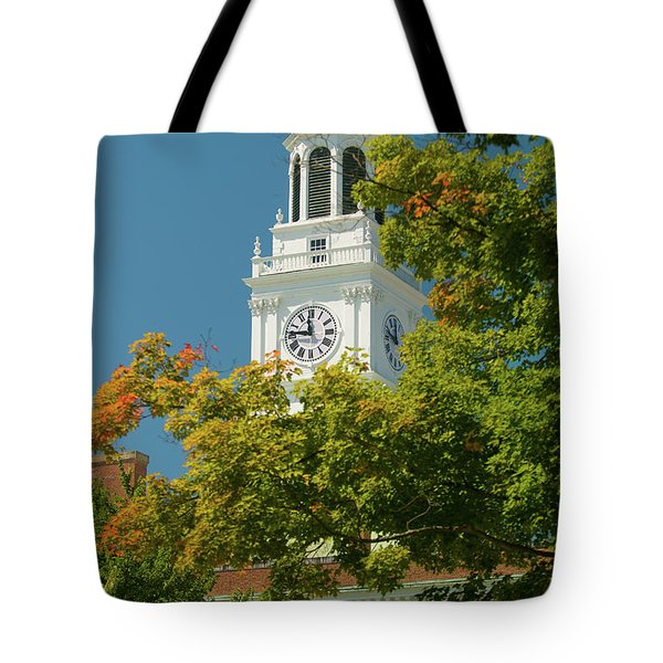 Time For Autumn Tote Bag