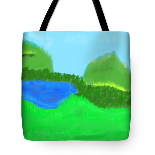 Time For Fishing Tote Bag
