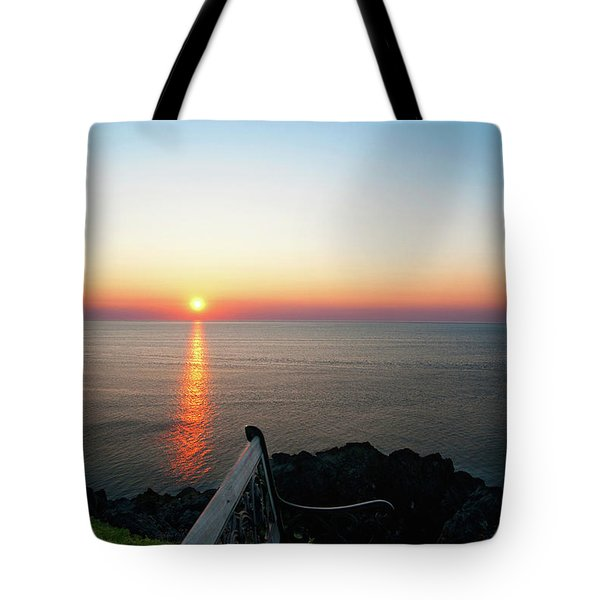 Time For Reflection... Tote Bag by Nina Stavlund
