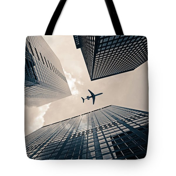 Time Frame Tote Bag