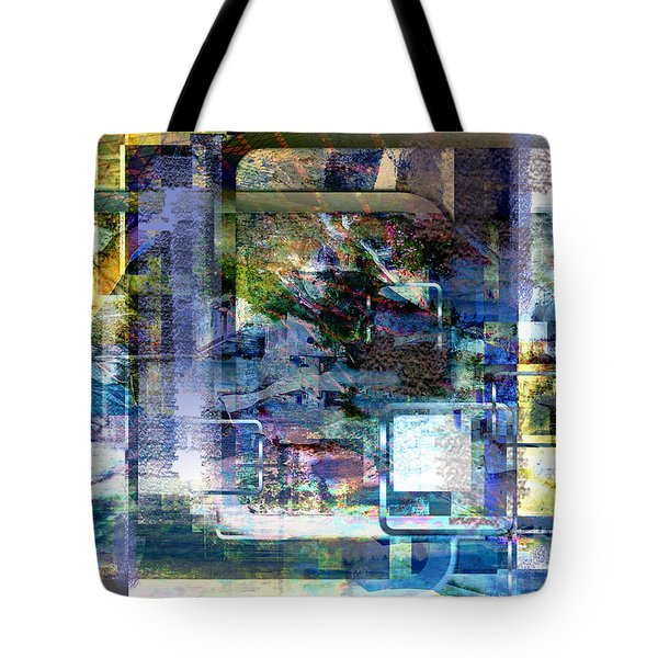 Tote Bag featuring the digital art Time Framing by Art Di