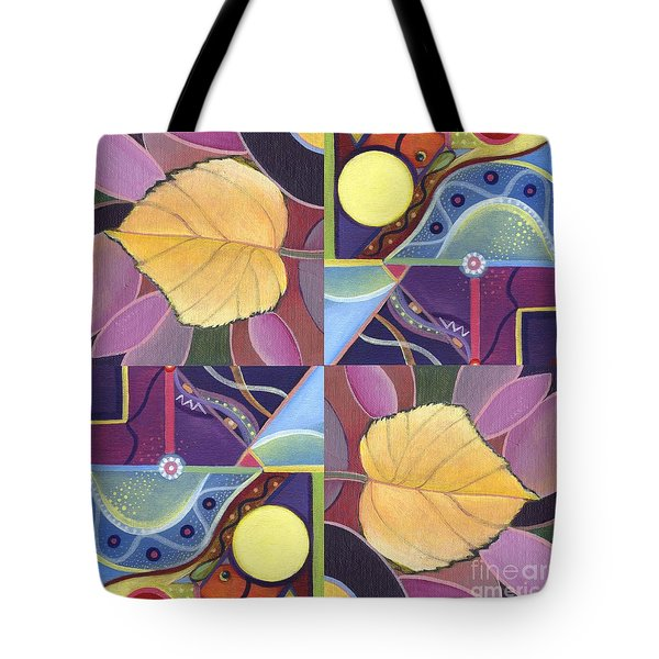 Time Goes By - The Joy Of Design Series Arrangement Tote Bag
