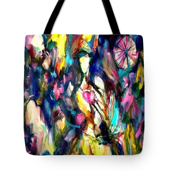 Time Love Heart Tote Bag