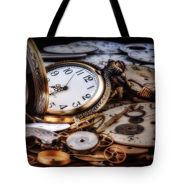 Time Machine Still Life Tote Bag