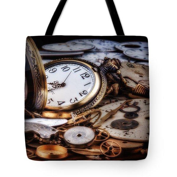 Time Machine Still Life Tote Bag