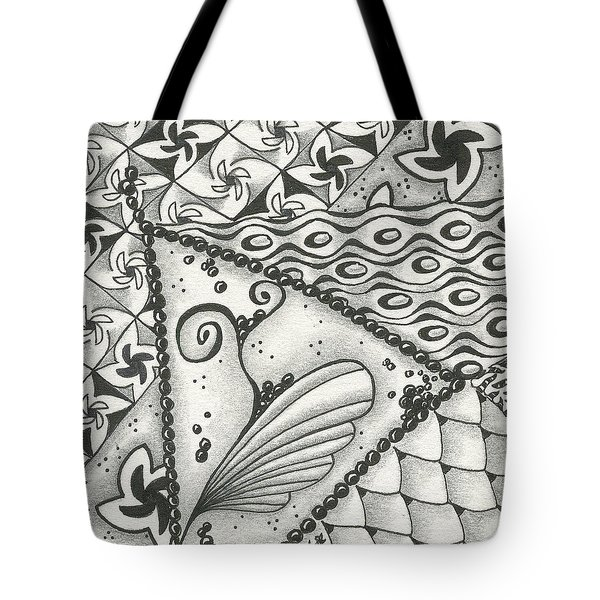 Time Marches On Tote Bag by Jan Steinle