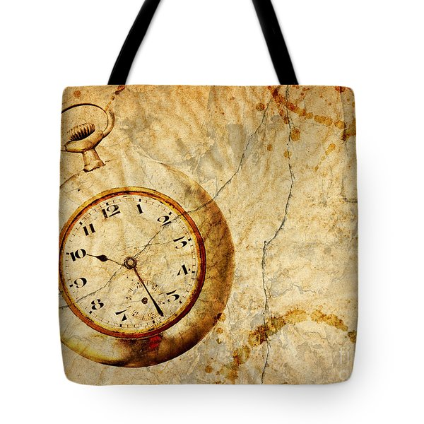 Time Tote Bag by Michal Boubin