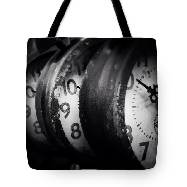 Time Multiplies Tote Bag