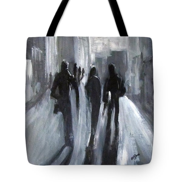 Time Of Long Shadows Tote Bag