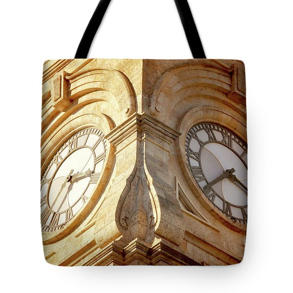 Time On My Side Tote Bag