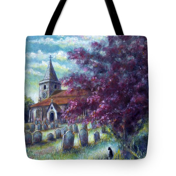 Time Our Companion Tote Bag