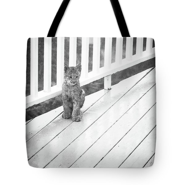 Time Out Bw Tote Bag