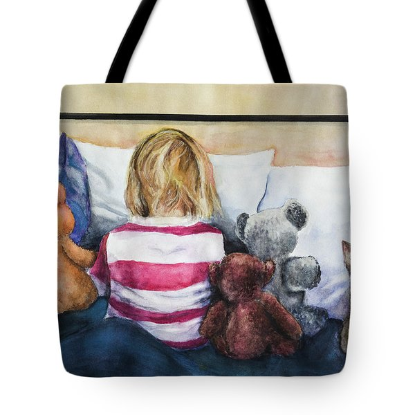 Time Out With My Friends Tote Bag