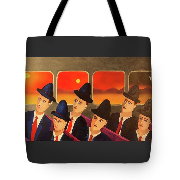 Time Passes By Tote Bag