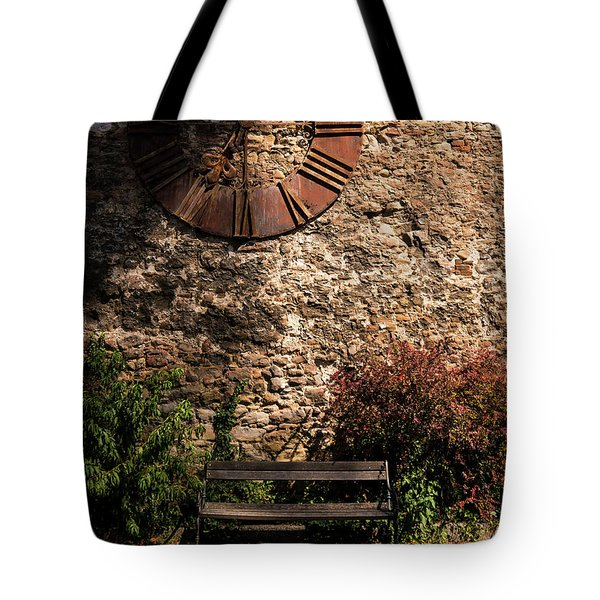 Time Passes Tote Bag by Rae Tucker
