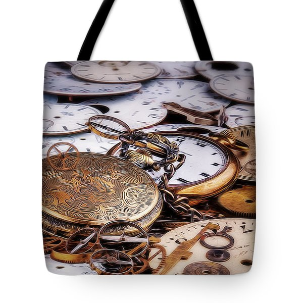 Time Pieces Tote Bag