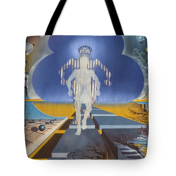 Time Runner Tote Bag