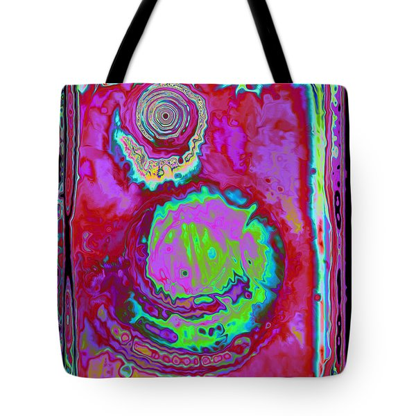 Tote Bag featuring the digital art Time Slip by Roxy Riou