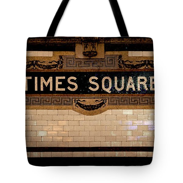 Time Square Tote Bag