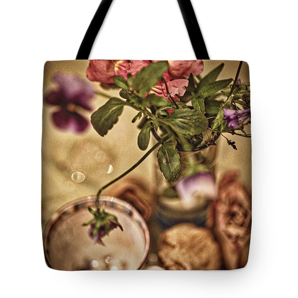 Time Stands Still Tote Bag by Kate Purdy