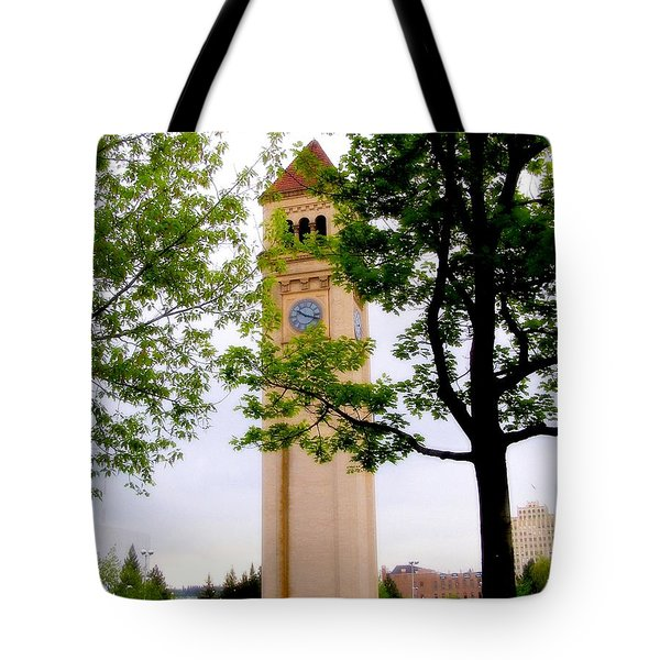 Time Tote Bag by Susan Kinney