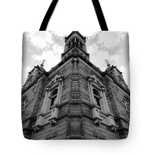 Time Three Tote Bag