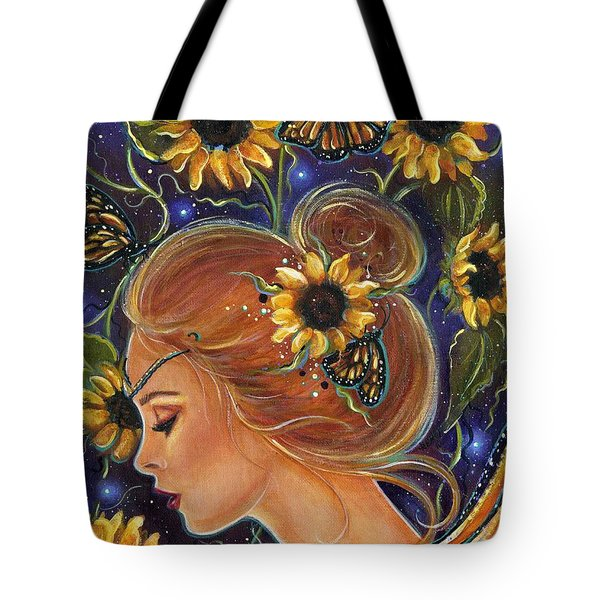 Time To Be Free Tote Bag by Renee Lavoie
