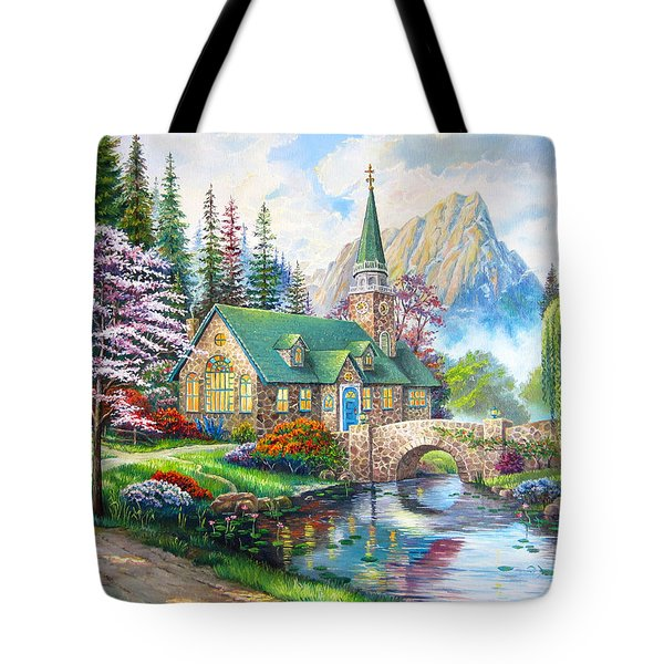 Time To Come Home Tote Bag by Karen Showell