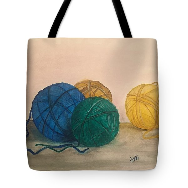 Time To Crochet Tote Bag