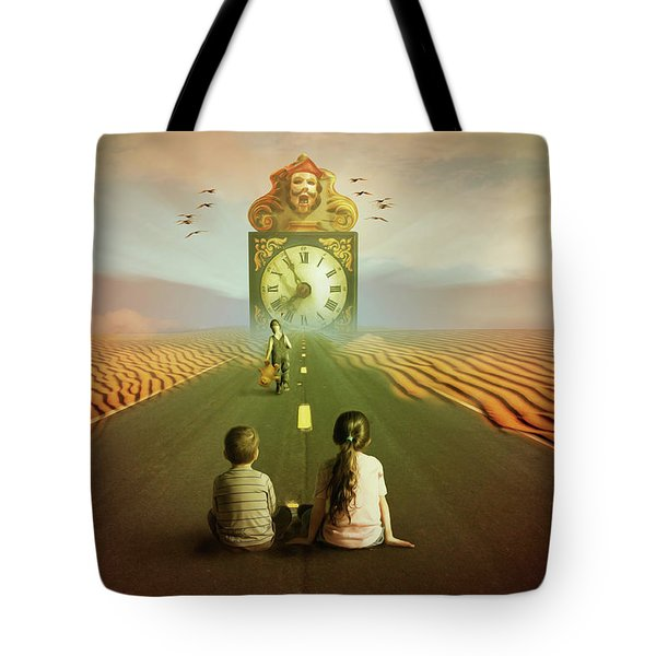 Time To Grow Up Tote Bag by Nathan Wright