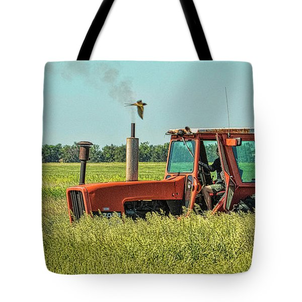 Time To Mow Tote Bag