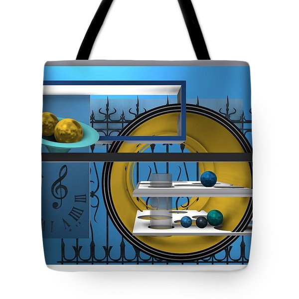 Time To Night Song Tote Bag