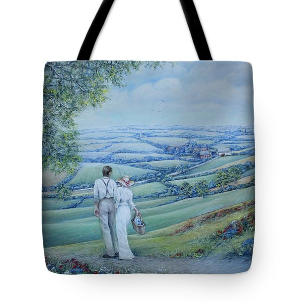 Time To Remember Tote Bag by Rosemary Colyer