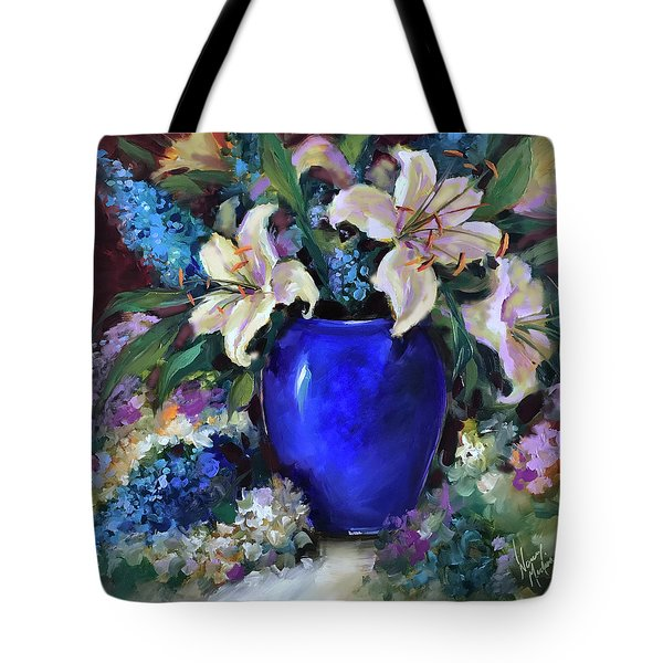 Time To Shine Lilies Tote Bag