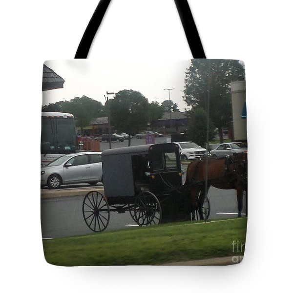 Time To Shop Tote Bag