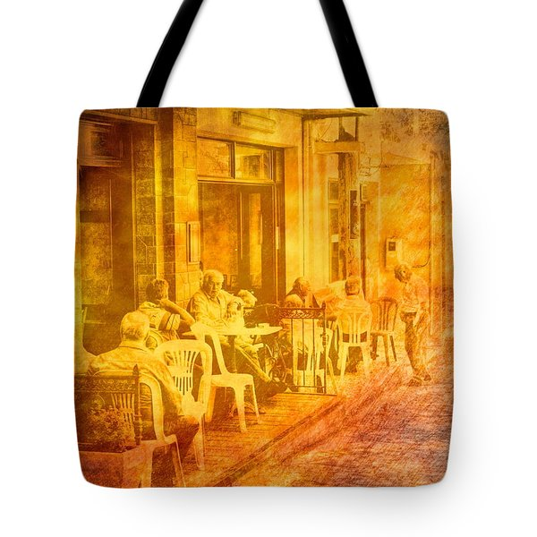 Time To Talk Tote Bag