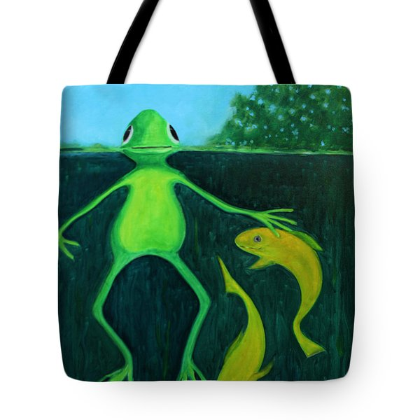 Time To Think Tote Bag by Tone Aanderaa