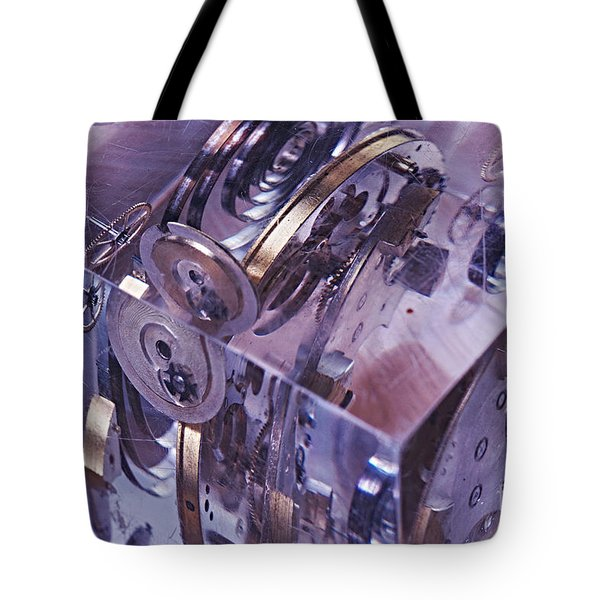 Time Trapped Tote Bag