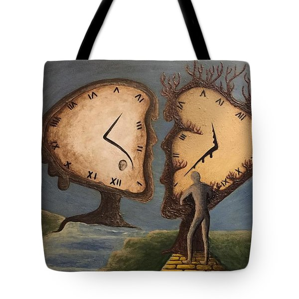 Time Travel 2016 Tote Bag