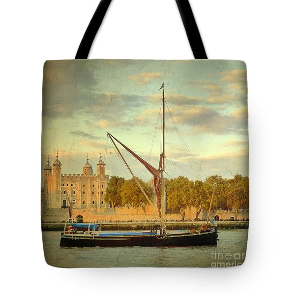 Tote Bag featuring the photograph Time Travel by LemonArt Photography