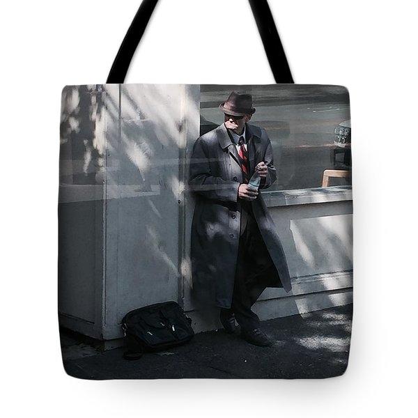 Time Traveler Tote Bag