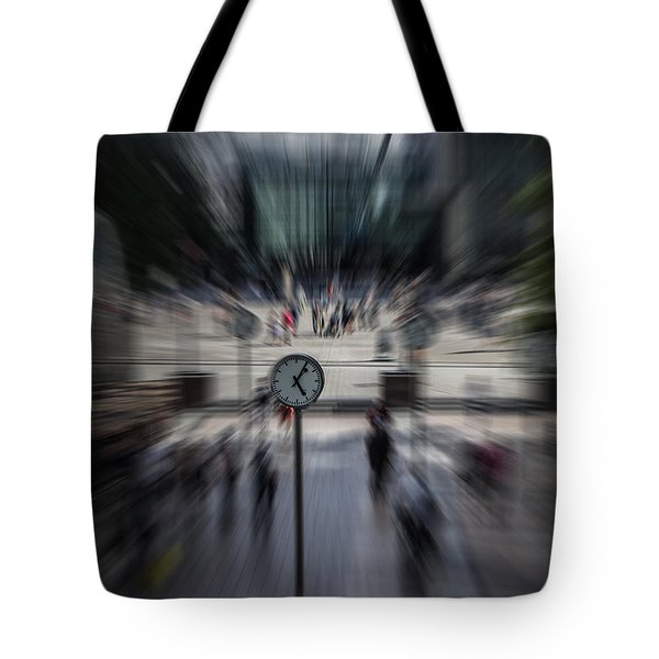 Time Traveller Tote Bag by Martin Newman