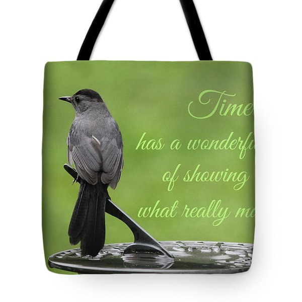 Tote Bag featuring the photograph Time by Trina Ansel