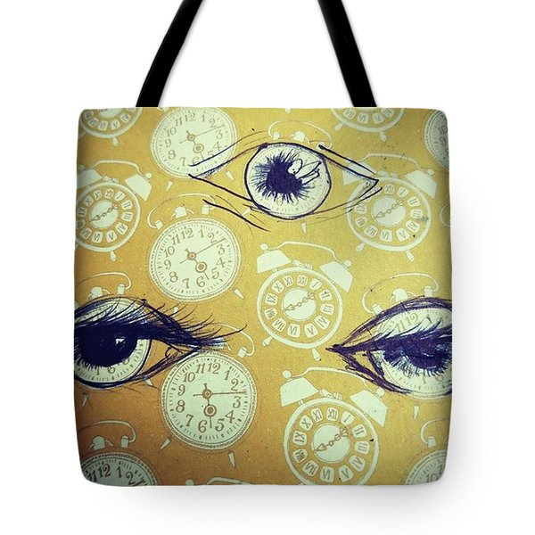 Time Waits For No Man, And Tomorrow Is Tote Bag