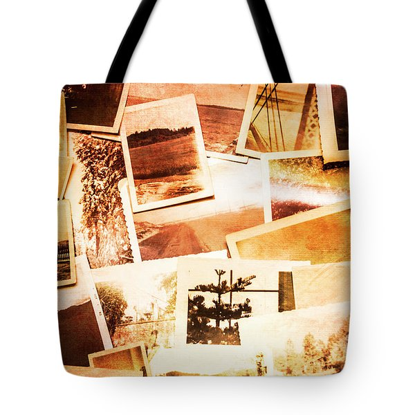 Time Worn Scenes And Places Background Tote Bag