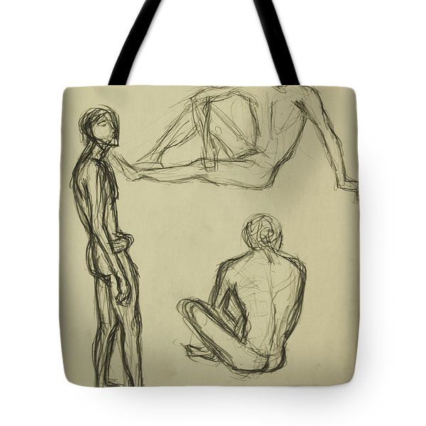 Timed Gestures Exercise Tote Bag