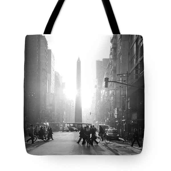 Tote Bag featuring the photograph Timeless Buenos Aires by Bernardo Galmarini
