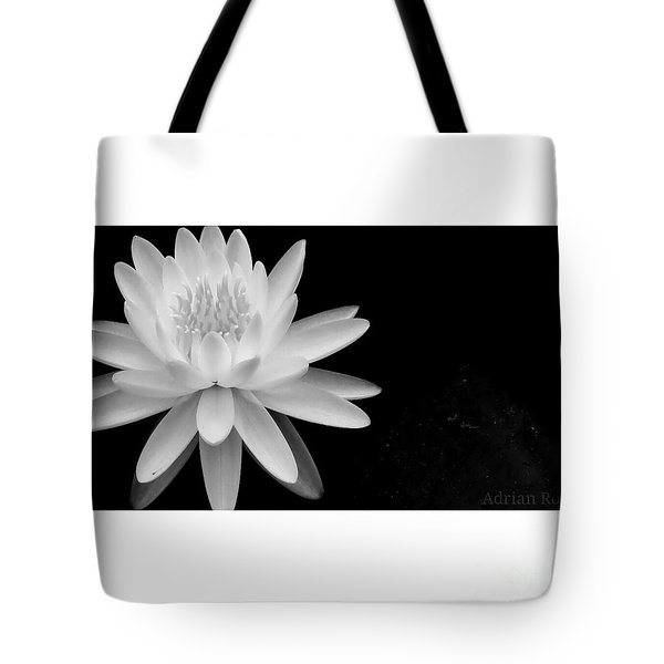 Black And White -timeless Lily Tote Bag