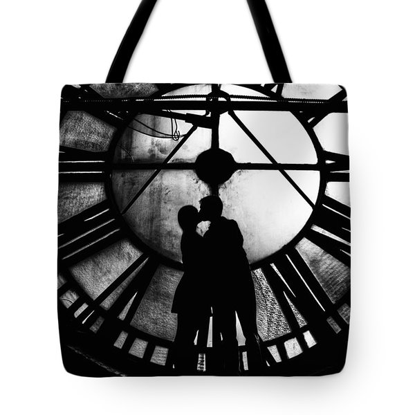 Timeless Love - Black And White Tote Bag