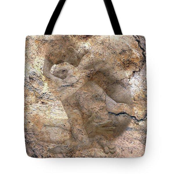 Timeless Male Tote Bag by Kurt Van Wagner